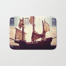 Clipper ship Bath Mat
