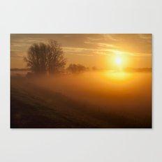 Morning's Glow Canvas Print