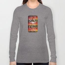 Tecumseh Quote Long Sleeve T-shirt