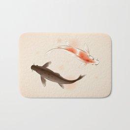 Yin Yang Koi fishes 001 Bath Mat