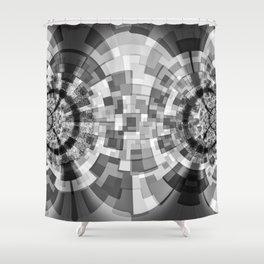 GS Geometric Abstrac 09BM2 S6 Shower Curtain