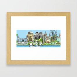 Guayaquil Framed Art Print