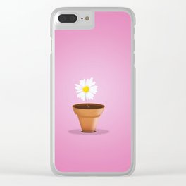 Little Daisy Clear iPhone Case