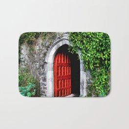 Red Door Bath Mat