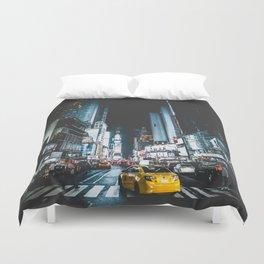 New York city night Duvet Cover