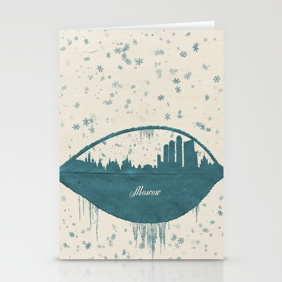 Frozen Moscow Stationery Cards