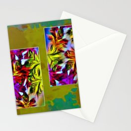 Fall patch work Stationery Cards