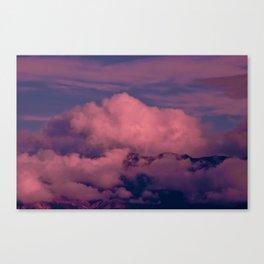 Winter Storm Clouds Canvas Print