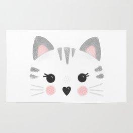 Little Kitty Face Rug