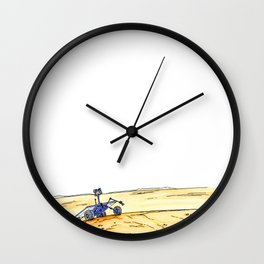 Rover March Wall Clock