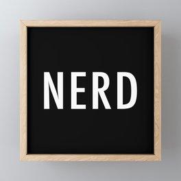 N E R D Framed Mini Art Print