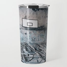 Chernobyl basketball court Travel Mug