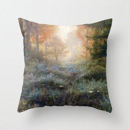 Dew-Drenched Furze by John Everett Millais (1889) Throw Pillow