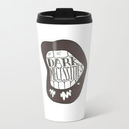 Dark Necessities Illustration Metal Travel Mug