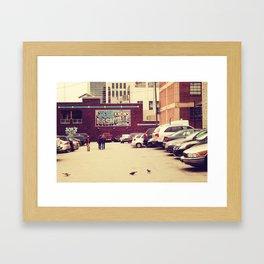 Joe Knows Nashville Framed Art Print