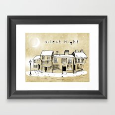 Silent Night 2 Framed Art Print