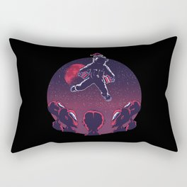 Cool Xmas Astronaut Science Fiction Rectangular Pillow