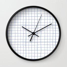 Graph paper Wall Clock