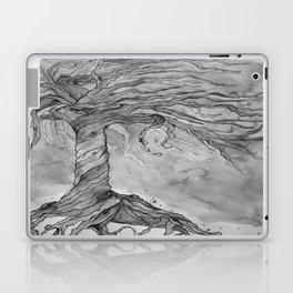 Tree of Life (Grey Scale) Laptop & iPad Skin