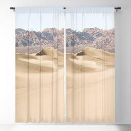 Sand Dunes Of Death Valley National Park Photo | California Landscape Art Print | USA Travel Photography Blackout Curtain