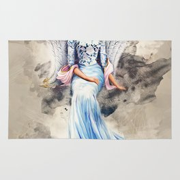 Blue Angel Rug