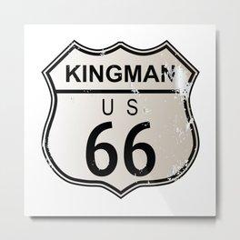 Kingman Route 66 Metal Print