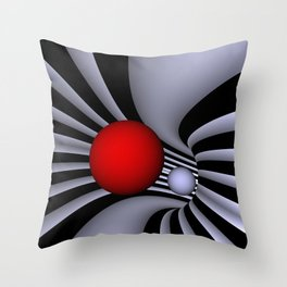 opart tunnel .2. Throw Pillow