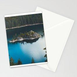 Fannette Island in Emerald Bay - Lake Tahoe, California Stationery Cards
