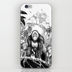 The Lost City of the Jungle Apes iPhone & iPod Skin