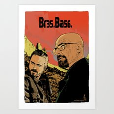 Breaking Bad (Br35Ba56) Art Print