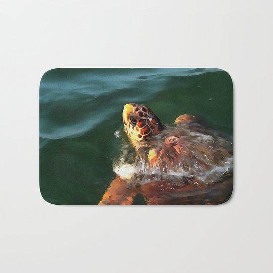 Loggerhead Turtle Bath Mat
