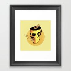 Record Player - ANALOG zine Framed Art Print