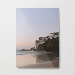 my beach house in the north of Africa | ocean view Morocco seaside coast photography print Metal Print
