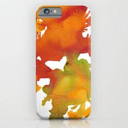 Autumn Splash iPhone Case