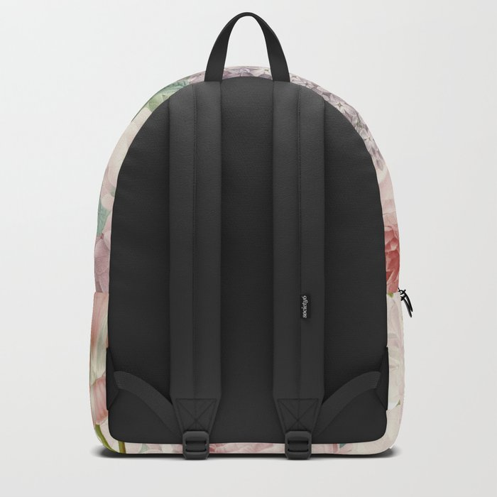 Vintage Roses and Lilacs Pattern - Smelling Dreams on #Society6 Backpack