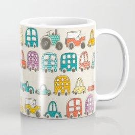 retro rides eggshell Coffee Mug