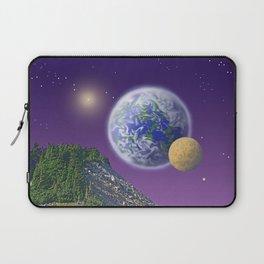 """NO WORLD IS """"ALIEN"""" Laptop Sleeve"""