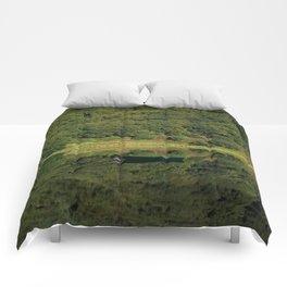 Llyn Mwyngil Reflection Comforters