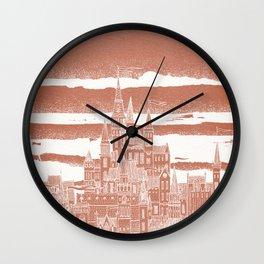 Jupiter Celestial City Wall Clock