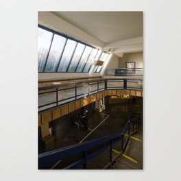 Prague - SpaceStation (Metro station|Vltavska) Canvas Print