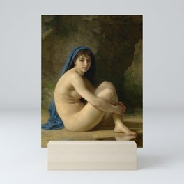 "William-Adolphe Bouguereau ""Seated Nude"" Mini Art Print"