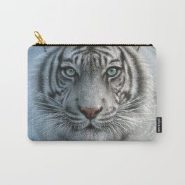 White Tiger - Wild Intentions Carry-All Pouch