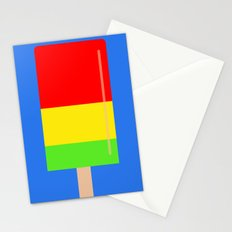 Popsicle fun art Stationery Cards