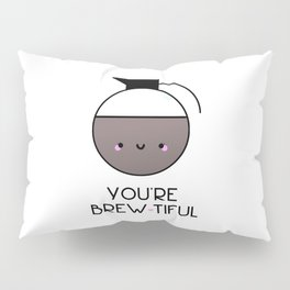 Beauty is in the eye of the Mug Holder Pillow Sham