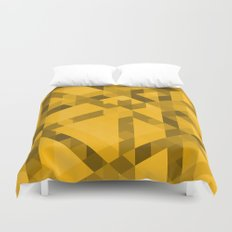 Gold Pattern Duvet Cover