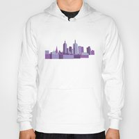 melbourne Hoodies featuring Melbourne by S. Vaeth