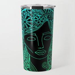 GREEK GODDESS in MINT Travel Mug
