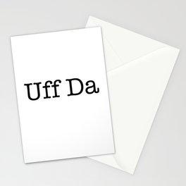 Uff Da Stationery Cards