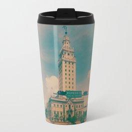 Freedom Tower Miami Travel Mug