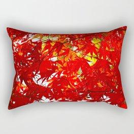 Japanese Maple Leaves Rectangular Pillow